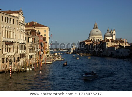 Overview of Grand Canal in Venice Stock photo © AndreyKr