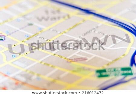 centro · Carolina · do · Norte · negócio · globo · país - foto stock © alex_grichenko