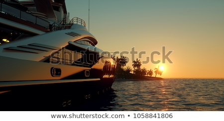 yacht Stock photo © tracer