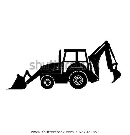 Kerék közelkép koszos acél építkezés építkezés Stock fotó © smuay