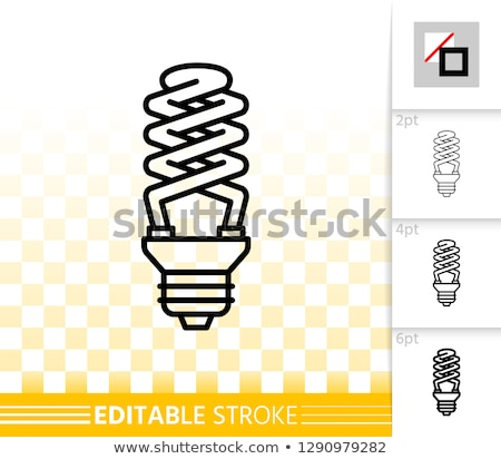 different shapes of cfl and bulb stock photo © get4net