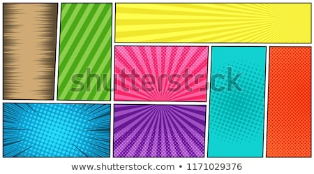 Artwork with Color Strip Background Stock photo © sdmix