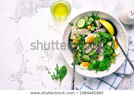 Avocado insalata vegetariano cucina Foto d'archivio © M-studio