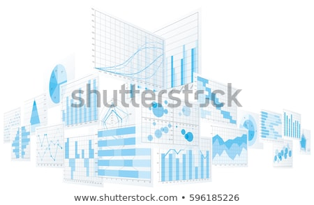 Diagram réteges illusztráció könnyű üzlet háttér Stock fotó © DzoniBeCool