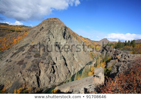 Grand Canyon of Stikine River in Northern British Columbia Stock photo © pictureguy