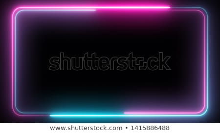 amazing purple background with abstract 3d circles stock photo © sarts