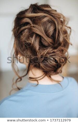 portret · jonge · blond · model · fabelachtig · meisje - stockfoto © konradbak