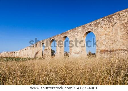 Kamares, the old aqueduct of Larnaca. Cyprus Stock photo © Kirill_M