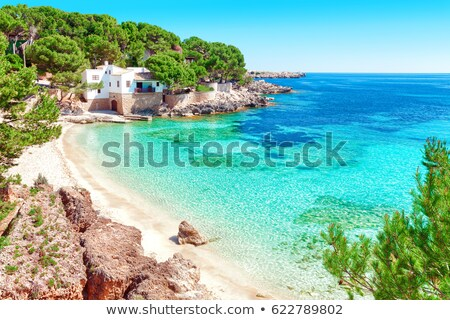 Scenics View Of Idyllic Beach Stock photo © AndreyPopov
