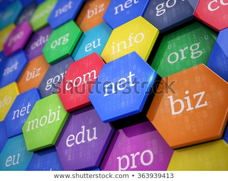 Stockfoto: Web · hosting · knop · 3d · illustration · metalen · toetsenbord