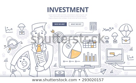 Profit Growth Concept with Doodle Design Icons. Stock photo © tashatuvango