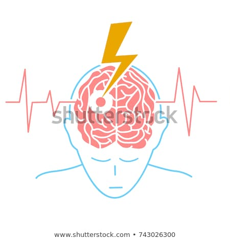 Brain Attack Diagnosis. Medical Concept. Stock photo © tashatuvango