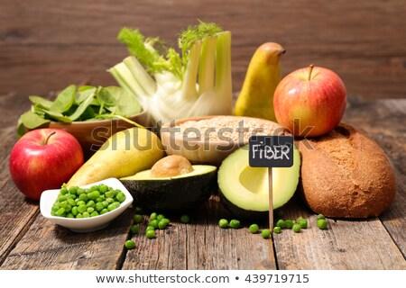 食品 高い 繊維 背景 パン 野菜 ストックフォト © M-studio
