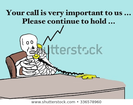 Dead customer service Stock photo © creisinger