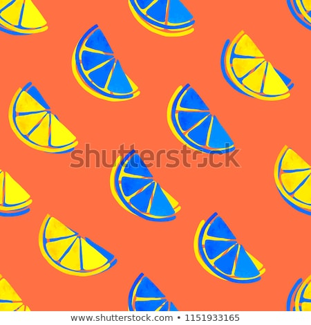 Egyszerű gyümölcsök minta végtelenített vektor trópusi Stock fotó © ExpressVectors