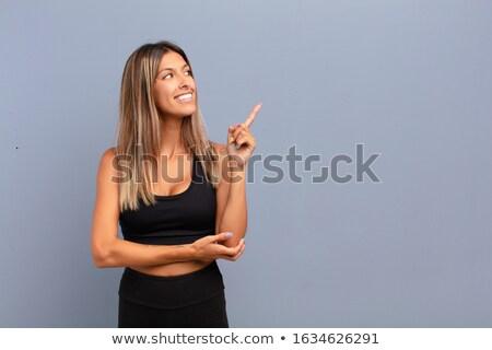 Mano donna punta uomo tecnologia comunicazione Foto d'archivio © wavebreak_media