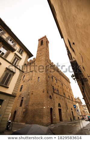 A desolate street in Tuscany Stock photo © IS2