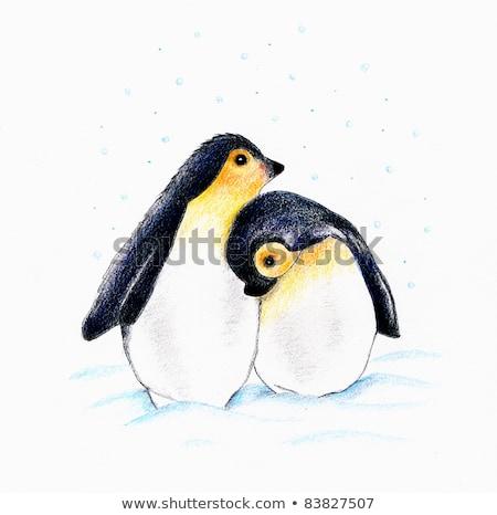inverno · roupa · coleção · moda · cores · desenho - foto stock © olena