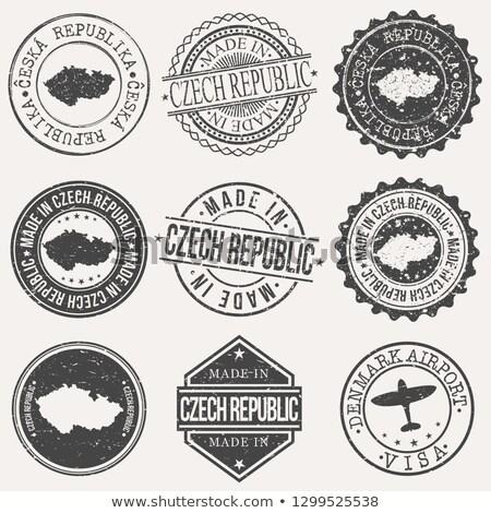 czech republic logo map vector icon Stock photo © blaskorizov