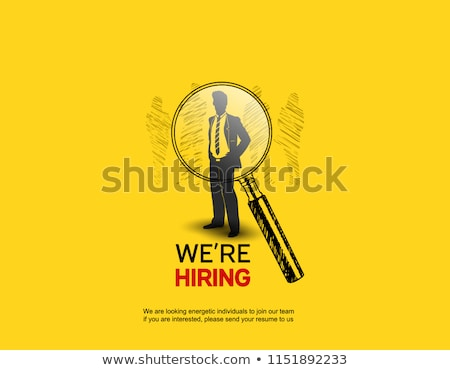 Employment and Hiring Concept Stock photo © -TAlex-