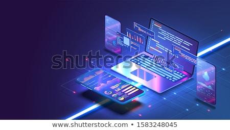 開発 ウェブ 開発者 ブロック ベクトル 人 ストックフォト © robuart
