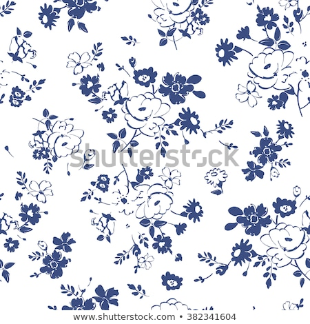 Floral abstrato camomila flores vetor Foto stock © Margolana