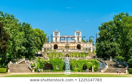 宮殿 ドイツ 建物 長い フロント スタイル ストックフォト © borisb17