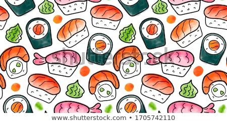 tradizionale · japanese · cucina · illustrazione · salsa · di · soia - foto d'archivio © netkov1