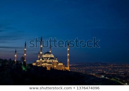 башни крана строительство Стамбуле Турция мнение Сток-фото © grafvision