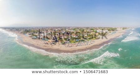 Rock strand wereld beroemd surfen hot Stockfoto © galitskaya