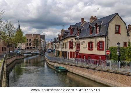 Francia río agua puente viaje urbanas Foto stock © borisb17