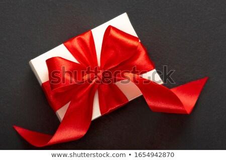 Witte zijde boeg ingericht turkoois steeg Stockfoto © blackmoon979