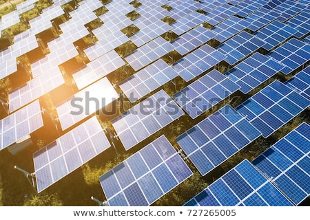 Solar cell in the field Stock photo © bluering