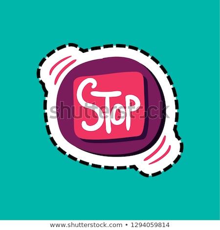 手首 · ブレスレット · 色 · 実例 · 停止 · タイマー - ストックフォト © barsrsind
