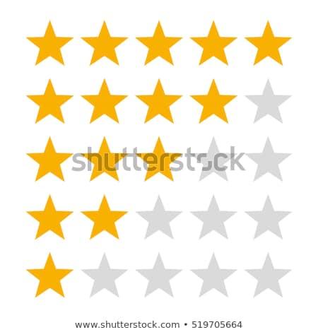 Estrellas ilustración aislado blanco signo grupo Foto stock © DeCe