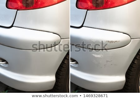 Car Scratch Repair Before And After Stock photo © AndreyPopov