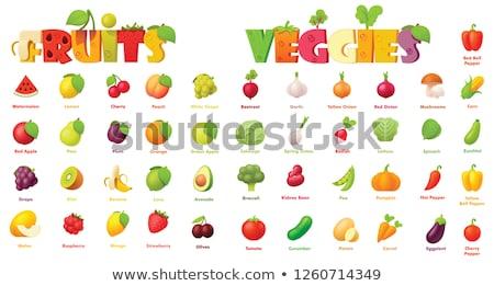 Ягоды другой плодов продажи рынке продовольствие Сток-фото © elxeneize