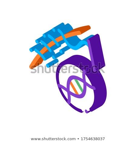 Cirugía médicos icono vector Foto stock © pikepicture