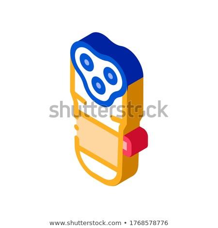 電子 剃る マシン アイソメトリック アイコン ベクトル ストックフォト © pikepicture