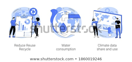 Overconsumption abstract concept vector illustration. Stock photo © RAStudio