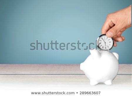 time to invest clock stock photo © kbuntu