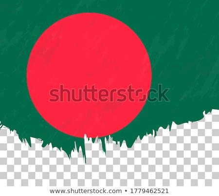 Bangladesh grunge bandeira velho vintage textura do grunge Foto stock © HypnoCreative
