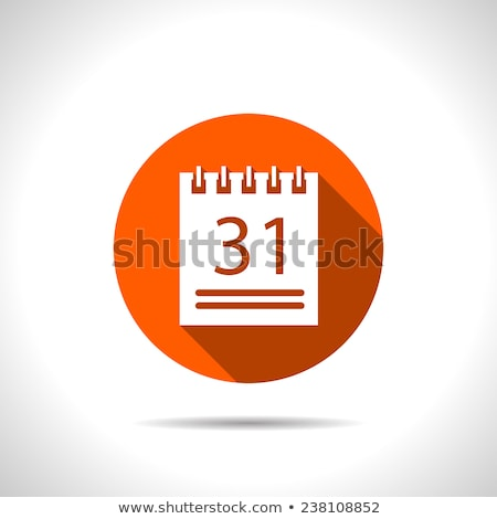 abstract blank calender icon Stock photo © pathakdesigner
