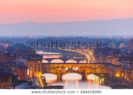 Ponte vecchio (old bridge) in Florence Stock photo © aladin66