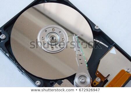 hard disk platter and actuator arm Stock photo © prill