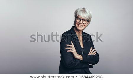 ritratto · imprenditrice · donna · ufficio · comunicazione · sorridere - foto d'archivio © photography33