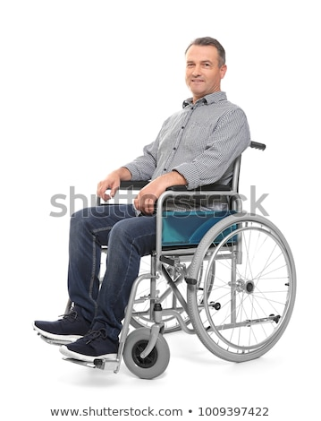 portrait of a man in wheelchair Stock photo © photography33