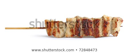 hagyományos · görög · hús · tyúk · gyors · keleti - stock fotó © sirylok