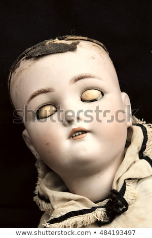 weathered doll head Stock photo © sirylok