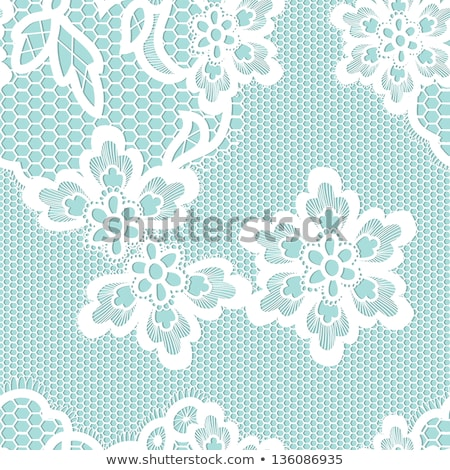 Klasszikus virág dísz eps vektor akta Stock fotó © beholdereye